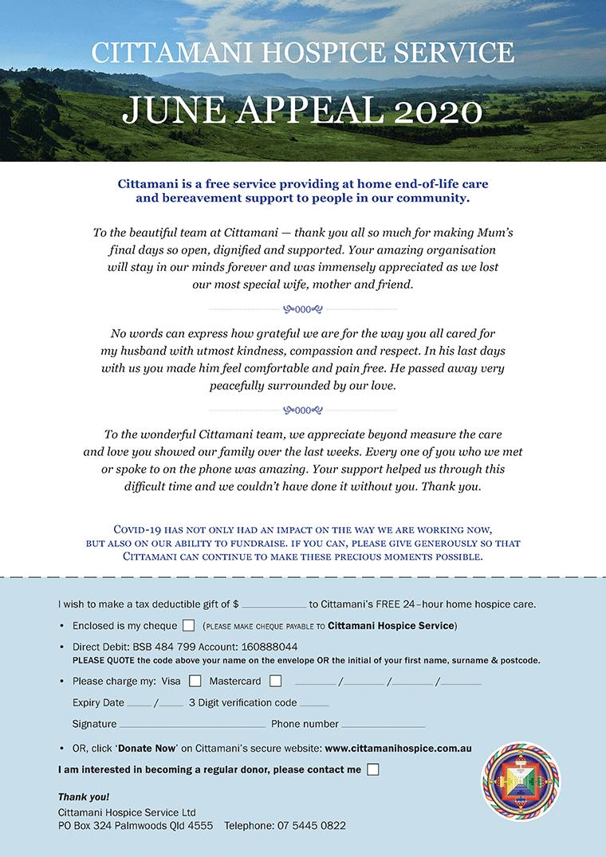 CITTAMANI appeal letter June 2020